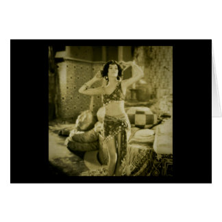 Silent Film Era Beauty Sterevoview Card