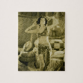 Silent Film Era Beauty Sterevoview Card Jigsaw Puzzle