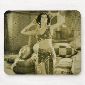 Silent Film Era Beauty Sterevoview Card Mouse Pad