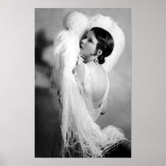 Silent Film Star Norma Talmadge Poster