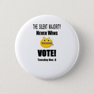 Silent Majority #1.pdf 6 Cm Round Badge