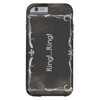 Silent Movie Title iPhone 6 case Vintage Grunge