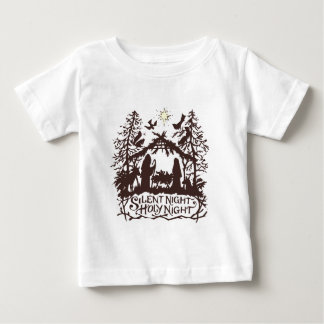 Silent Night Baby T-Shirt