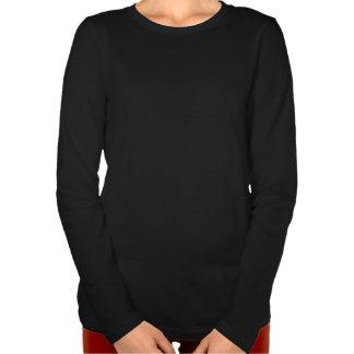 Silent Night Carol Womens' Holiday LS T-shirt