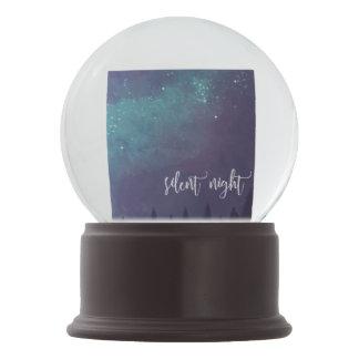 Silent Night - Christmas Snow Globe