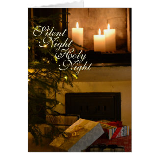 """Silent Night Holy Night"" Beloved Christmas Carol Card"