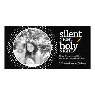 Silent Night, Holy Night Christian Christmas Photo Cards