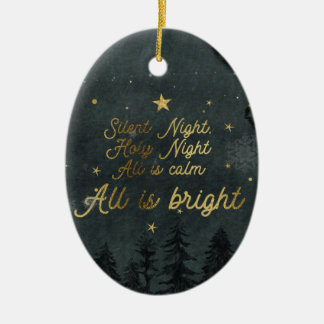 SILENT NIGHT, HOLY NIGHT ORNAMENT