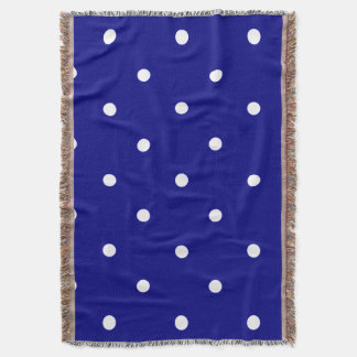 Silent_Night-II(c) REVIS-Deep Blue-White-Blanket_ Throw Blanket