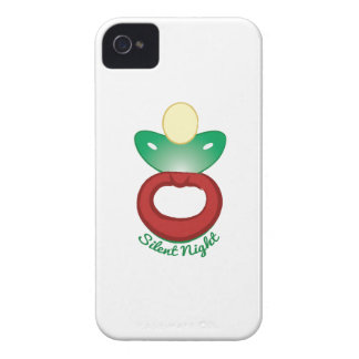 Silent Night iPhone 4 Cover