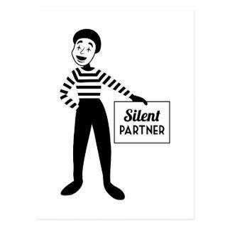 Silent Partner Postcard
