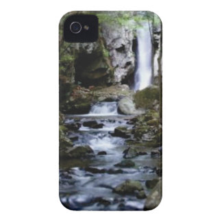 silent stream in forest iPhone 4 case