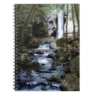 silent stream in forest notebooks