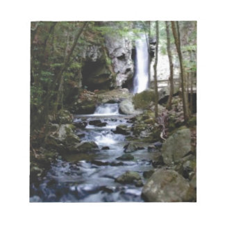 silent stream in forest notepad