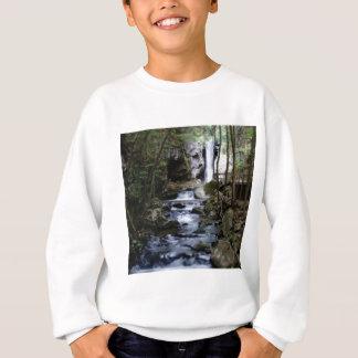 silent stream in forest sweatshirt