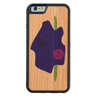 Silent Talk Carved Cherry iPhone 6 Bumper Case