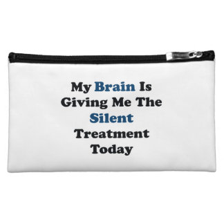 Silent Treatment Cosmetic Bag
