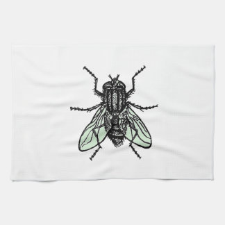 Silent Wallpaper Tea Towel