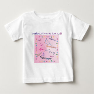 Silently Correcting your Math Baby T-Shirt
