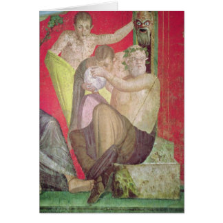 Silenus and the Young Satyr, East Wall Card