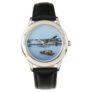 Silfra Landscape in Iceland Wristwatch
