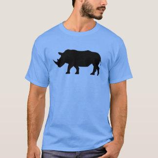 Silhouette Black Rhino T-Shirt