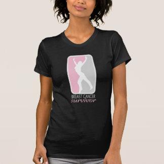 Silhouette Breast Cancer Survivor T-Shirt