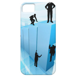 Silhouette Business People Competition Concept Case For The iPhone 5