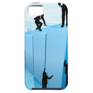 Silhouette Business People Competition Concept iPhone 5 Cover