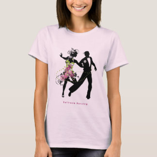 Silhouette Couple Ballroom Dancing T-Shirt