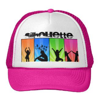 silhouette dancers hat