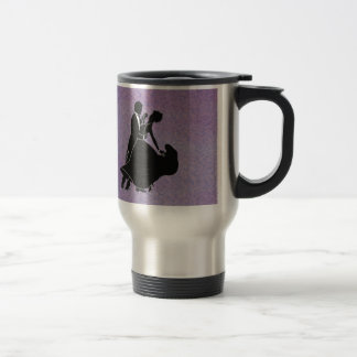 Silhouette Dancers Travel Mug
