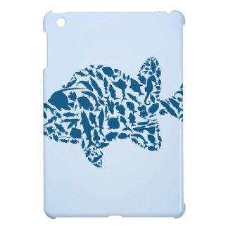 Silhouette fish iPad mini cover