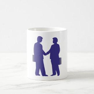 Silhouette Geschäftsmänner business men Teehaferl