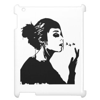 Silhouette Girl - Free your Mind (Ipad Case) iPad Cases