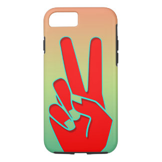 Silhouette Hand gestures iPhone 8/7 Case
