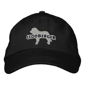 Silhouette Leonberger Embroidered Hat
