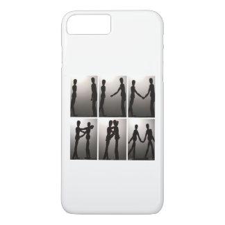 Silhouette Love iPhone 8 Plus/7 Plus Case