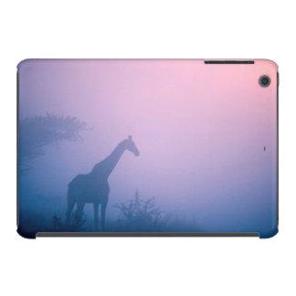 Silhouette Of Giraffe (Giraffa Camelopardalis) iPad Mini Retina Case