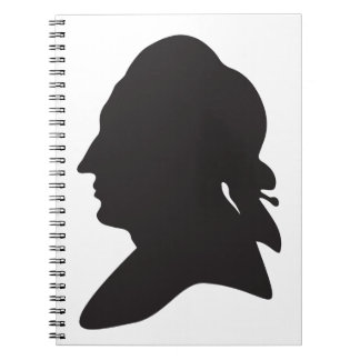 silhouette of Goethe Notebook