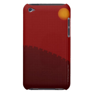 Silhouette of Great Wall of China iPod Case-Mate Case