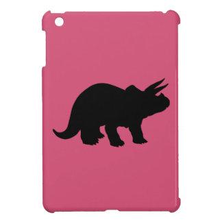 Silhouette of Triceratops iPad Mini Cover