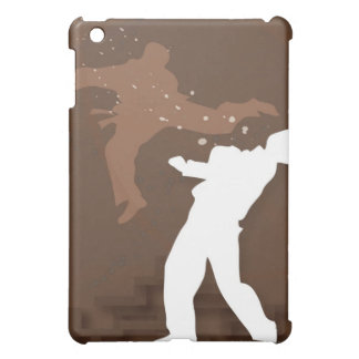 Silhouette of two men practicing karate cover for the iPad mini