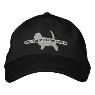 Silhouette PBGV Embroidered Hat