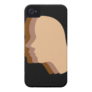 Silhouette showing tanning of skin iPhone 4 Case-Mate cases