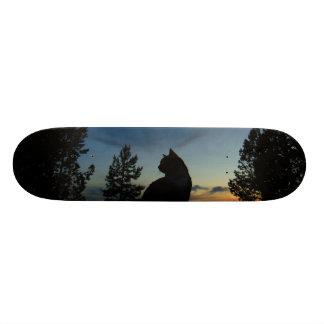 Silhouette Skate Board Deck