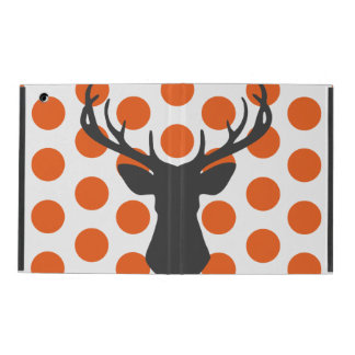 Silhouette Stag Head iPad Cover