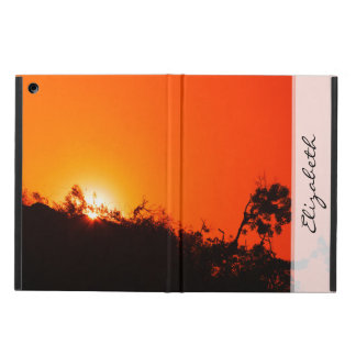 Silhouette Sunset iPad Air Case