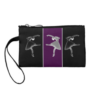 Silhouette Trio Ballet Change Purse