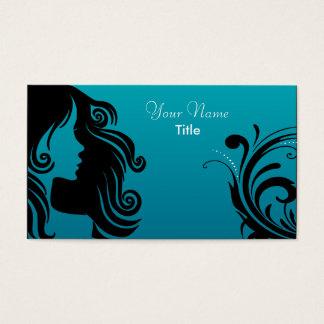 Silhouette Woman Hair Stylist